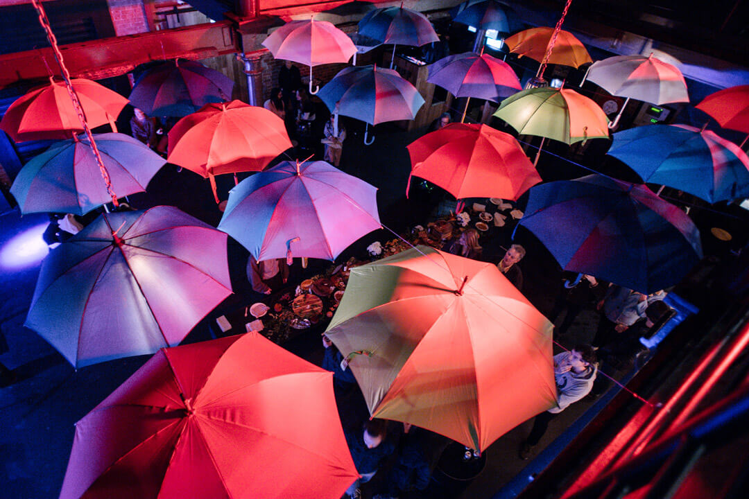 Umbrella Winter City Sounds Launch Party